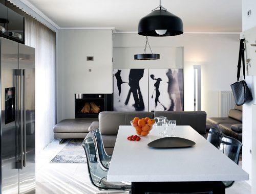 Modernist appartment in Piraeus